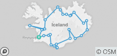 6 Day Around Iceland Adventure - 29 destinations