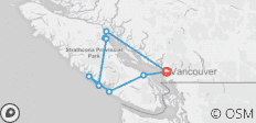 Whales & Bears of British Columbia - 9 destinations