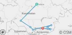 Kazakhstan Adventure - 8 destinations