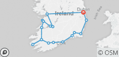 Irish Highlights (18 destinations) - 18 destinations