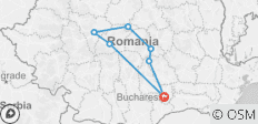 3 Day Transylvania Tour from Bucharest - 7 destinations