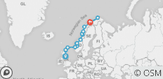Scottish Islands & Norwegian Fjords - Edinburgh to Tromsø - 16 destinations