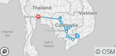Fascinating Vietnam, Cambodia & the Mekong River with Bangkok – Northbound 2018 - 20 destinations