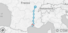 Burgundy & Provence - Cruise Only Southbound - 10 destinations