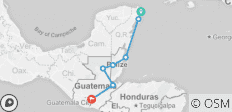 Quetzal Highway  (from Cancun to Antigua) - 7 destinations