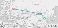 Kublai Khan - 10 days - 5 destinations