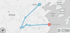 Luxury 11 Days Odyssey of the Yangtze - No Shopping Stops (from Beijing to Shanghai) - 7 destinations