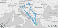 Balkan Explorer - 16 Days - 18 destinations
