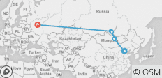 Highway to Moscow - 14 days - 9 destinations