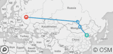 Highway to Moscow - 14 days - 7 destinations