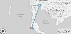 Bangkok & Phuket - 4 destinations