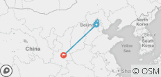 Beijing & Xi\'an - 4 destinations