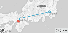 Best of Japan with Osaka - 3 destinations