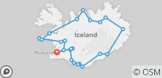 Highlights of Iceland - 24 destinations