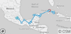 Mexico & Cuba Highlights  - 32 destinations