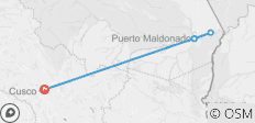 Puerto Maldonado Amazon Air-Expedition (from Cuzco) (3 days) - 5 destinations