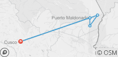 Puerto Maldonado Amazon Air-Expedition (from Cuzco) (4 days) - 6 destinations