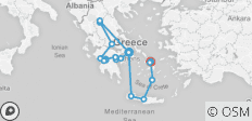 Complete Greece (from Athens to Mykonos) - 18 destinations
