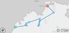4WD Broome to Darwin Overland  - 11 destinations
