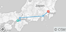 Anime Pioneer Adventure - Japan Golden Route Tour with Anime - 6 destinations