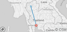 Northern Thailand Trip: 10 Days - Temples, Tribes & Tuk Tuks - 3 destinations