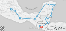 Epic Mexico, Belize & Guatemala - 27 destinations