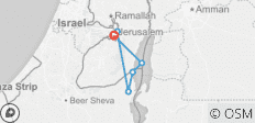 Jerusalem & Dead Sea - 3 Days - 6 destinations
