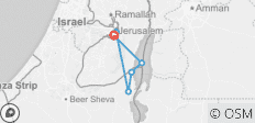Jerusalem & Dead Sea 3 Day Package - 6 destinations