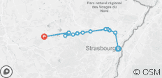 Cruise on the Marne-Rhine Canal from Strasbourg to Lagarde - 12 destinations