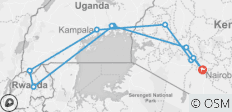 Nairobi To Nairobi (19 Days) Gorillas & Gameparks - 10 destinations