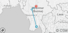 7 Days Interesting Burma - 4 destinations