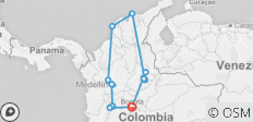 Best of Colombia - 17 destinations