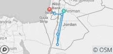 Essential Jordan, Israel & the Palestinian Territories - 6 destinations