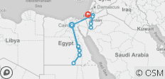 Epic Egypt, Jordan, Israel & the Palestinian Territories - 16 destinations