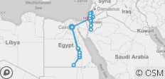 Epic Egypt, Jordan, Israel & the Palestinian Territories  (from Cairo to Jerusalem) - 24 destinations