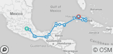Epic Mexico & Cuba (from Mexico City to Havana) - 24 destinations
