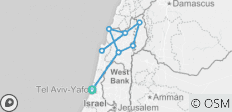 Northern Israel 4 Day Package from Tel Aviv - 10 destinations