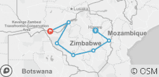 Zimbabwe Highlights (from Harare to Victoria Falls) - 7 destinations