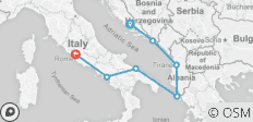 Adriatic Spirit (8 Days) - 7 destinations