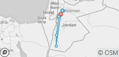 Trek Jordan - 5 destinations
