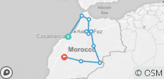 Morocco Food Explorer - 10 destinations