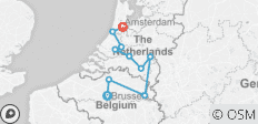 Holland & Belgium at Tulip Time (Brussels to Amsterdam, 2019) - 10 destinations