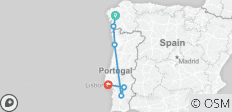 Portugal Real Food Adventure, featuring Galicia - 6 destinations