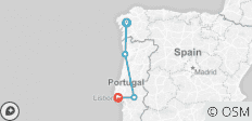 Portugal Real Food Adventure, featuring Galicia - 4 destinations