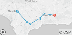 Cycle Andalucia - 8 destinations
