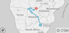 Essential Botswana - 8 destinations