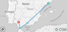 Spain Trip: 10 Days - Sunsets and Sangria - 4 destinations
