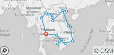 Epic South East Asia - 21 destinations