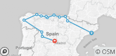 Northern Spain 2019 - 13 destinations
