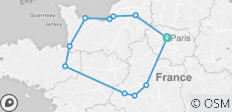 Jewels of France including Normandy 2020 - 11 destinations